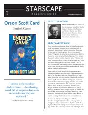 Ender's Game_Reading Guide