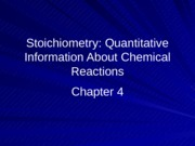 Chemistry111Chapter4