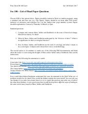 Soc 100 – List of Final Paper Questions (3).docx