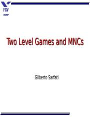 two level games.ppt