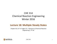 CHE 314_L18_Multiple Steady-States1
