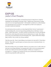 EXP105_3_Authors_Final_Thoughts week 5