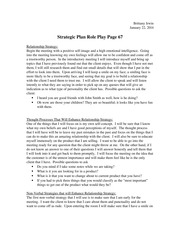Strategic Plan Role Play Page 67