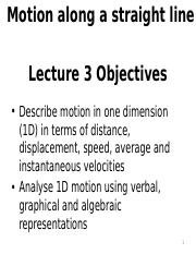 1stLE Lecture 03 - R2 Displacement, time, average and instantaneous velocity-A.pptx