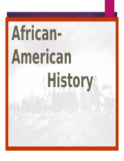 african+american+history+in+the+US