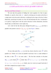 LECTURE_7_Line and Plane in Surface. Quadric surfaces_S2_2014-2015