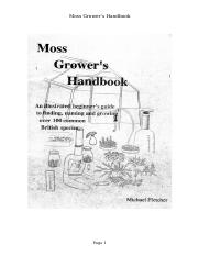 Moss Grower's Handbook.doc