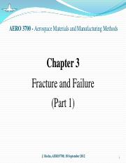 Chapter 3 - Fracture and Failure (part 1)