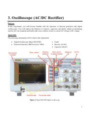 Oscilloscope Experiment Manual