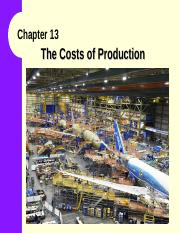 Lecture09ch13 -CostofProduction