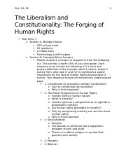 The Liberalism and Constitutionality- Lecture#5- Oct.24.docx