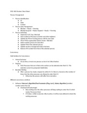 SYSC 4001 Review Cheat Sheet