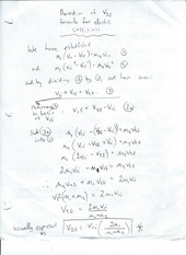 Derivation of V2F Formula