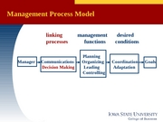 MGMT 370 -  Lecture 14 decisionmaking