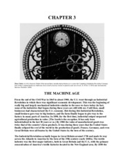 Chapter 3 - The Machine Age