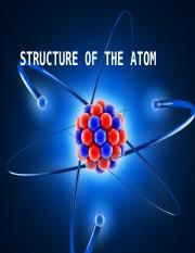 STRUCTURE OF THE ATOM.pptx