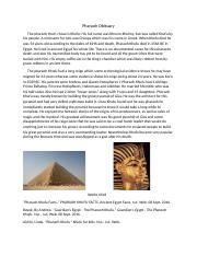 Pharaoh Obituary.docx