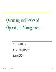 Note07 - Queueing and Basics of Operations Management.pdf