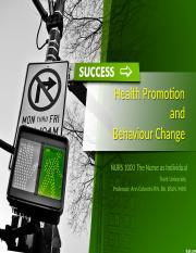 week 6 NURS 1000 Trent Health Promotion and Behaviour Change - POST FA 2016.pptx