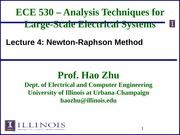 ECE530 Fall 2014 Lecture Slides 4
