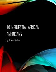 10 influential African Americans.pptx