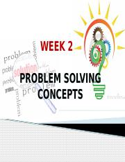 Week 2 - Problem Solving Concepts.pptx