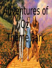 Wizard of Oz Theme Park.pptx