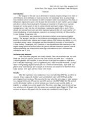 Osmosis Lab Report - BIO 105-12, Faye Ellis, Monday, 9:55 ...