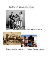 Southwest Indians.docx