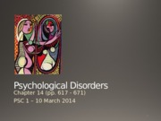 14+Psychological+Disorders.pptx