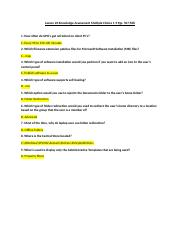 Lesson 20 Knowledge Assessment Multiple Choice 1-9 Pgs. 507-508.docx