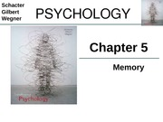 Chapter 5 - Memory
