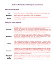 Article Analysis Guidelines(2)
