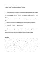 BUS 475 - Chapter 11 - Creating a Learning Organization and an Ethical Organization.docx