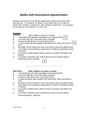 Belbin Questionnaire - Working in Groups Quiz.doc