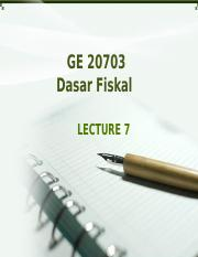 GE20703 Lecture 7.ppt