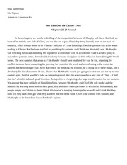 Chapters 23-24 Journal