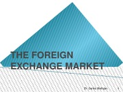 7-Foreign Exchange Market