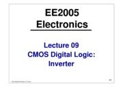 EE2005-Lecture09-CMOS-Logic-Inverter