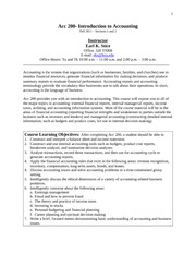 Full Syllabus Acc 200 Fall 2011