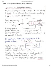 Capacitance Notes