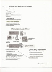 ACCTG 302 Chapter 4 Lecture Notes on Job Order Costing