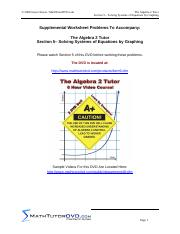 05. Algebra 2 Tutor Solving Systems of Equations by Graphing.pdf