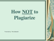 How_Not_to_Plagiarize-student