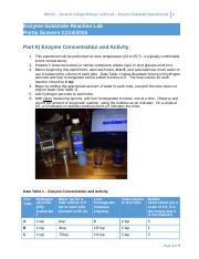 Scovern Lab-6-Enzyme-Substrate Reaction