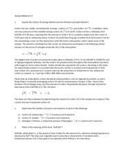 Midterm 2 Test Solutions for Chemistry Applications to Living Systems
