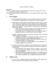 Ch. 13 Notes-Fall 2009