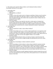 IB Theory of Knowledge Prescribed Title Essay Planning Assignment