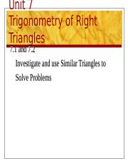 1 - Similar Triangles.ppt