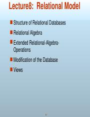 Lecture 8 - Relation Algebra(1).ppt